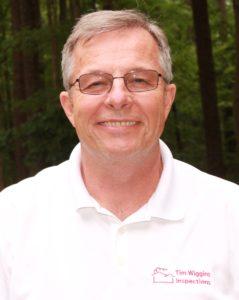 Tim Wiggins, owner of Tim Wiggins Inspections